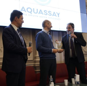 [Concours] AQUASSAY lauréat du prix « Global Innovation & Enterprise » : The IE-Club Global 60 (4th edition)