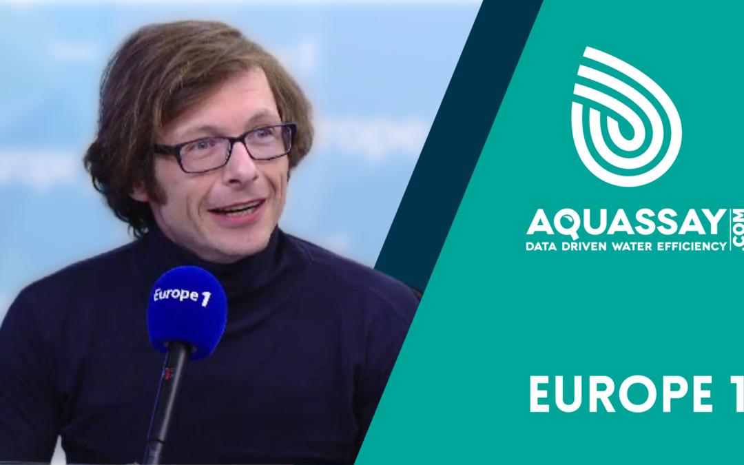 [Vidéo] Europe 1 | Interview de Stéphane Gilbert